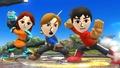 Primera imagen de los Combatientes Mii SSB4 (Wii U).jpg