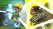 Toon Link usando su Smash Final en Ganondorf SSBU.png