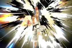 Vista previa de Shin Shoryuken / Shinku Hadoken en la sección de Técnicas de Super Smash Bros. Ultimate