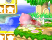Ataque de recuperación de cara hacia arriba de Kirby (2) SSBM.png
