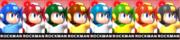 Paleta de colores de Mega Man (JAP) SSB4 (3DS).png