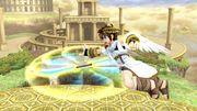 Ataque aéreo hacia adelante Pit SSB4 Wii U.jpg