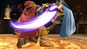 Ganondorf atacando a Marth SSBU.jpg