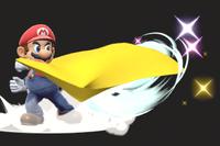 Vista previa de Capa en la sección de Técnicas de Super Smash Bros. Ultimate