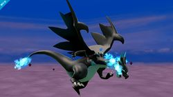 Charizard usando su Smash Final en Super Smash Bros. para Wii U