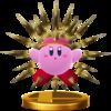 Trofeo de Kirby Erizo SSB4 (Wii U).png