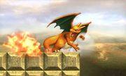 Ataque fuerte lateral de Charizard SSB4 (3DS).jpg