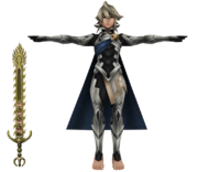 Pose T Corrin SSB4 (3DS).png