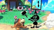 Mr. Game & Watch usando Juez SSBU.jpg