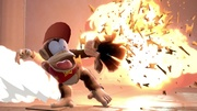 Diddy Kong en Columna Lanza SSBU.jpg