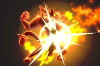 Vista previa de Desquite en la sección de Técnicas de Super Smash Bros. Ultimate