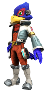 Artwork oficial de Falco en Star Fox Zero.png