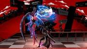 Ataque fuerte hacia arriba de Joker+Arsene (2) Super Smash Bros. Ultimate.jpg