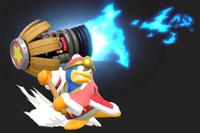 Vista previa de Martillo a reacción en la sección de Técnicas de Super Smash Bros. Ultimate