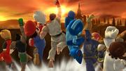 Créditos Modo Senda del guerrero Ryu SSB4 (Wii U).png