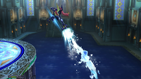 Greninja usando Hidrobomba en Super Smash Bros. para Wii U