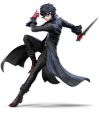 Art oficial de Joker en Super Smash Bros. Ultimate