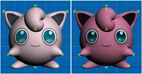 Modelos de Jigglypuff de Super Smash Bros para 3DS.png