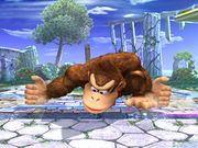 Ataque Smash inferior Donkey Kong SSBB.jpg