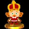 Trofeo de Rey Roy SSB4 (3DS).png