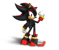 Art oficial de Shadow the Hedgehog en Super Smash Bros. Brawl