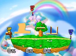 Mario, Luigi y Donkey Kong en el escenario