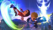 Dos Miis Karateka en el Campo de Batalla SSB4 (Wii U).jpg