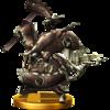 Trofeo de Cara de Bronce SSB4 (Wii U).png