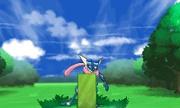 Greninja usando Escudo tatami en Pokémon X e Y.jpg