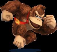 Art Oficial de Donkey Kong en Super Smash Bros. para Nintendo 3DS y Wii U.