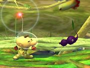 Ataque Smash lateral Olimar SSBB.jpg