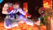 Ryu y Samus en Norfair SSB4 (Wii U).jpg