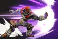 Vista previa de Puñetazo del hechicero en la sección de Técnicas de Super Smash Bros. Ultimate