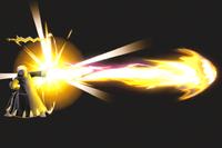 Vista previa de Trueno en la sección de Técnicas de Super Smash Bros. Ultimate