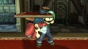 Lanzamiento hacia abajo Luigi SSBB (2).png