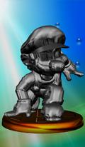 Trofeo Mario de Metal SSBM.png
