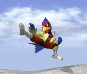 Ataque Smash lateral de Falco (2) SSBM.png