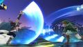 Marth y Link cruzando sus espadas en combate - (SSB. for Wii U).jpg