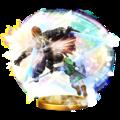 Trofeo de Golpe Trifuerza (Link) SSB4 (Wii U).png