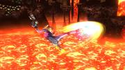 Ataque aéreo hacia delante de Samus Zero (2) SSB4 (Wii U).png