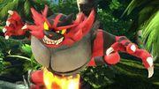 Incineroar en la Cascada Kongo SSBU.jpg