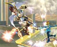 Látigo de plasma en Super Smash Bros. Brawl