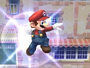 Ataque aéreo hacia adelante (1) Mario SSBB.jpg