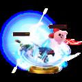 Trofeo de Golpe crítico (Lucina) SSB4 (Wii U).png