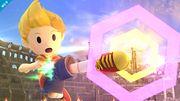 Lucas usando su ataque aéreo en el Coliseo SSB4 (Wii U).jpg