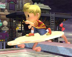 Entrada de Lucas en Super Smash Bros. Brawl.
