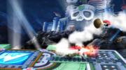 Little Mac terminando el golpe contra Pit y el Aldeano SSB4 (Wii U).png
