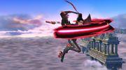 Ataque Aéreo Hacia Adelante (2) Bayonetta SSB Wii U.jpg