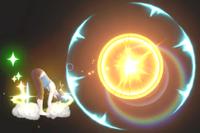 Vista previa de El saludo al sol en la sección de Técnicas de Super Smash Bros. Ultimate