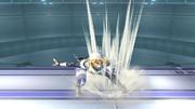 Ataque Smash hacia arriba Sheik SSBB (2).png